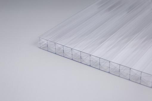 AKTION!!! 16 mm Stegplatten X-Struktur glasklar