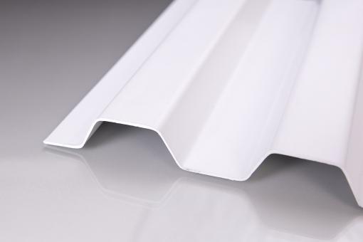 "Sollux® Trapezplatten 70/18 weiß-opak ""EXTREM BELASTBAR"""